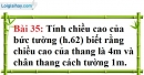 Bài 35 trang 135 Vở bài tập toán 7 tập 1