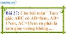 Bài 37 trang 135 Vở bài tập toán 7 tập 1