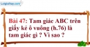 Bài 47 trang 143 Vở bài tập toán 7 tập 1