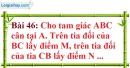 Bài 46 trang 141 Vở bài tập toán 7 tập 1