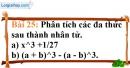 Bài 25 trang 24 Vở bài tập toán 8 tập 1