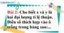 Bài 2 trang 54 Vở bài tập toán 7 tập 1