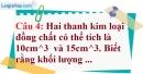 Phần câu hỏi bài 2 trang 55 Vở bài tập toán 7 tập 1