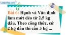 Bài 6 trang 56 Vở bài tập toán 7 tập 1