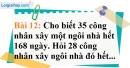 Bài 12 trang 60 Vở bài tập toán 7 tập 1