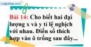 Bài 14 trang 62 Vở bài tập toán 7 tập 1