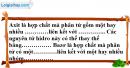 Câu 1 phần bài tập học theo SGK – Trang 139 Vở bài tập hoá 8