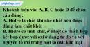 Câu 34-1, 34-2 phần bài tập tham khảo – Trang 129 Vở bài tập hoá 8