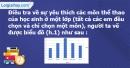 Phần câu hỏi bài 3 trang 14 Vở bài tập toán 7 tập 2