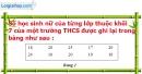 Phần câu hỏi bài 1 trang 5, 6 Vở bài tập toán 7 tập 2