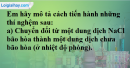 Câu 3 phần bài tập học theo SGK – Trang 152 Vở bài tập hoá 8