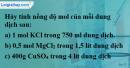 Câu 3 phần bài tập học theo SGK – Trang 158 Vở bài tập hoá 8