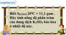 Câu 3 phần bài tập học theo SGK – Trang 165 Vở bài tập hoá 8
