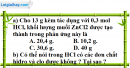 Câu 38.8, 38.11 phần bài tập trong sách bài tập – Trang 146 Vở bài tập hoá 8