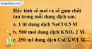Câu 4 phần bài tập học theo SGK – Trang 159 Vở bài tập hoá 8