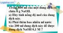 Câu 4 phần bài tập học theo SGK – Trang 165 Vở bài tập hoá 8