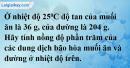 Câu 7 phần bài tập học theo SGK – Trang 159 Vở bài tập hoá 8