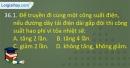 Câu 36.1, 36.2, 36.3, 36.4 phần bài tập trong SBT – Trang 101 Vở bài tập Vật lí 9