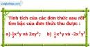 Bài 10 trang 36 Vở bài tập toán 7 tập 2