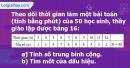 Bài 15 trang 21 Vở bài tập toán 7 tập 2