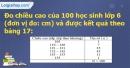 Bài 16 trang 22 Vở bài tập toán 7 tập 2