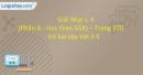 Mục I,II - Phần A - Trang 170 Vở bài tập Vật lí 9