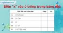 Phần câu hỏi bài 3 trang 34, 35 Vở bài tập toán 7 tập 2