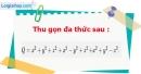 Bài 18 trang 42 Vở bài tập toán 7 tập 2