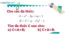 Bài 25 trang 46 Vở bài tập toán 7 tập 2