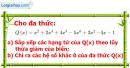 Bài 27 trang 48 Vở bài tập toán 7 tập 2