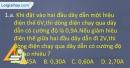 Câu 1.a, 1.b phần bài tập bổ sung – Trang 5 Vở bài tập Vật lí 9