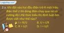 Câu 2.a, 2.b phần bài tập bổ sung – Trang 8 Vở bài tập Vật lí 9