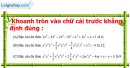 Phần câu hỏi bài 5 trang 40, 41 Vở bài tập toán 7 tập 2