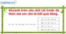Phần câu hỏi bài 8 trang 50 Vở bài tập toán 7 tập 2