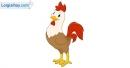 Viết một đoạn văn tả vẻ đẹp của chú gà trống