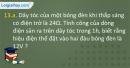Câu 13.a, 13.b phần bài tập bổ sung – Trang 42 Vở bài tập Vật lí 9