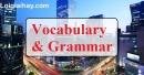 Vocabulary & Grammar - Trang 11 Unit 2 VBT Tiếng Anh 9 mới