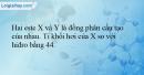 Bài 1.11 trang 5 SBT Hóa học 12