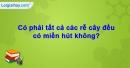 Câu hỏi 3 trang 18 Vở bài tập Sinh học 6