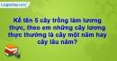 Câu hỏi 3 trang 9 Vở bài tập Sinh học 6