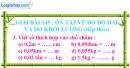 Bài 145 : Ôn tập về đo độ dài và đo khối lượng (tiếp theo)