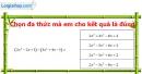 Bài 31 trang 52 Vở bài tập toán 7 tập 2