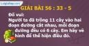 Bài 56 : 33 - 5