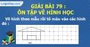 Bài 82 : Ôn tập về hình học