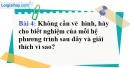 Bài 4 trang 10 Vở bài tập toán 9 tập 2