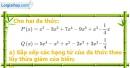 Bài 39 trang 58 Vở bài tập toán 7 tập 2