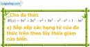 Bài 40 trang 59 Vở bài tập toán 7 tập 2