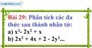 Bài 29 trang 27 Vở bài tập toán 8 tập 1