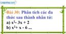Bài 30 trang 28 Vở bài tập toán 8 tập 1