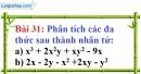 Bài 31 trang 28 Vở bài tập toán 8 tập 1